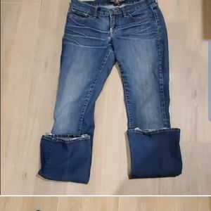 Lucky Brand Blue Jeans Charlie Baby Boot Size 6